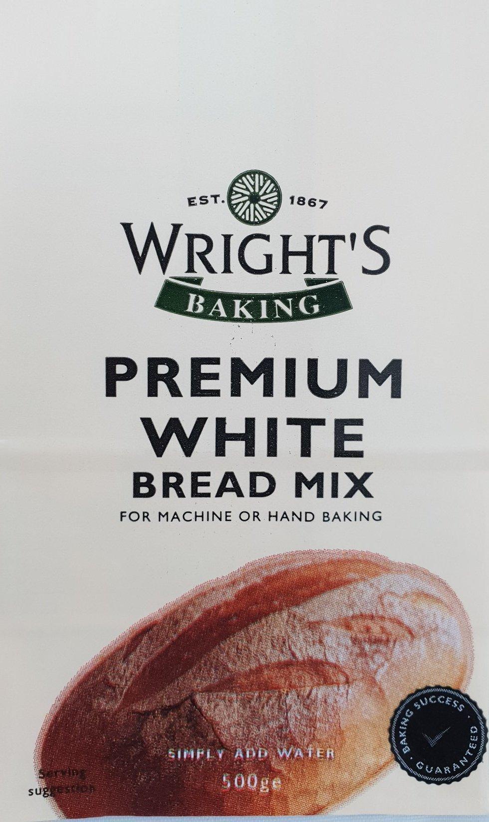 Premium White Bread Mix 500g